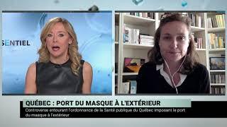 Dr. Nathalie Grandvaux sur l'inquiétude liée aux vaccins d'AstraZeneca et Johnson & Johnson