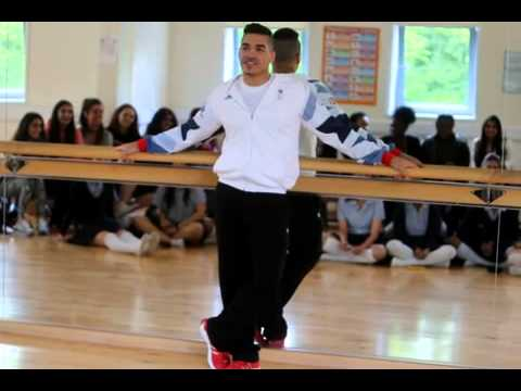 Louis Smith visits Woodford County High