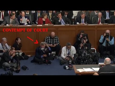 CNN Reporter Outburst: Bad Mouths Chairman Richard Burr - Forgets Mic Is On???