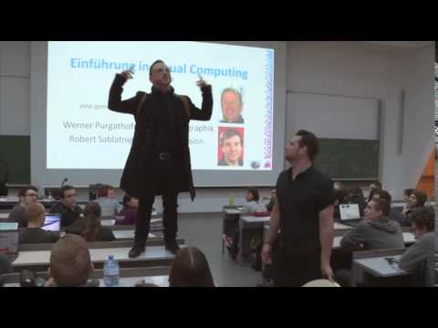 SomeKindaWonderful - Flash Mob (@Technische Universität Wien)