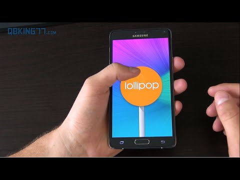 Galaxy Note 4 Android 5.0 Lollipop Review