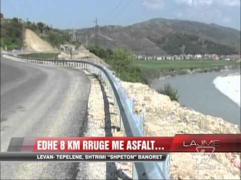 Levan-Tepelenë, edhe 8 km rrugë me asfalt - News, Lajme - Vizion Plus