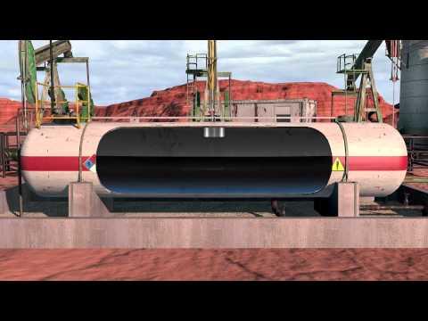 Oil Field Animation