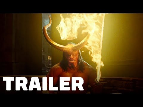Hellboy - Official Trailer #1 (2019) David Harbour, Milla Jo