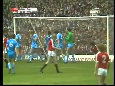 Manchester United 2-2 Manchester City 1980