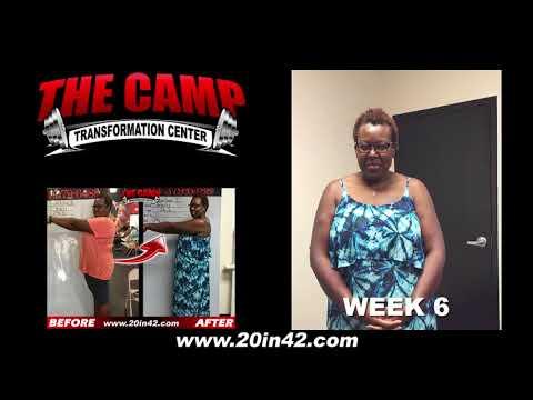 Jacksonville FL Weight Loss Fitness 6 Week Challenge Results - Sharlene J.