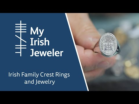 Irish Family Crest Rings And Jewelry