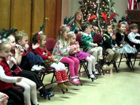 Evin 3yr Preschool Christmas Songs 2