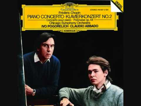 Chopin Piano Concerto No. 2 in F Minor, Op. 2 - IVO POGORELICH - Chicago Symphony Orchestra.