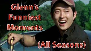 Glenn's Funniest Moments (All Seasons) - The Walking Dead