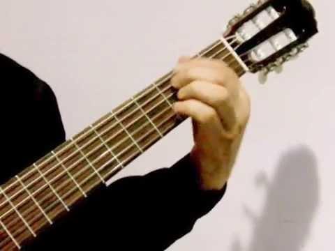 Acordes de Guitarra (SABOR A MI) Bolero.