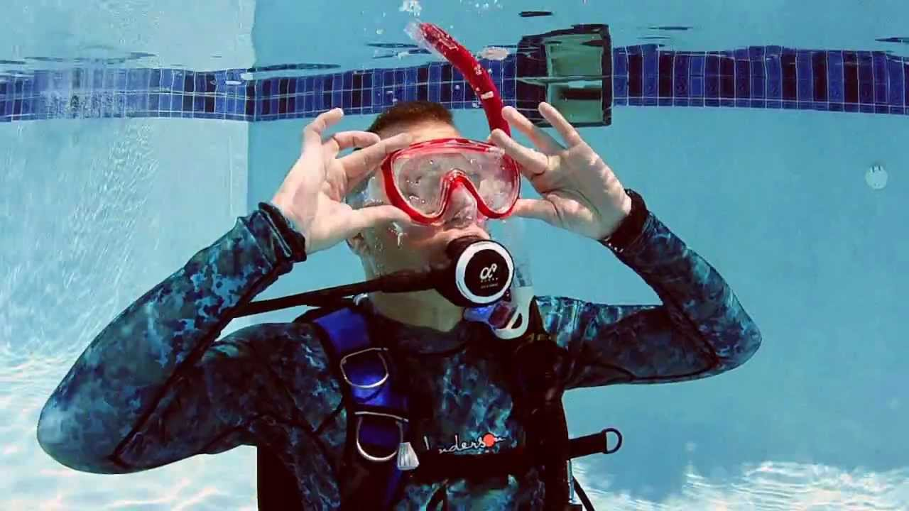 The mask clearing skill youtube - Dive training magazine ...