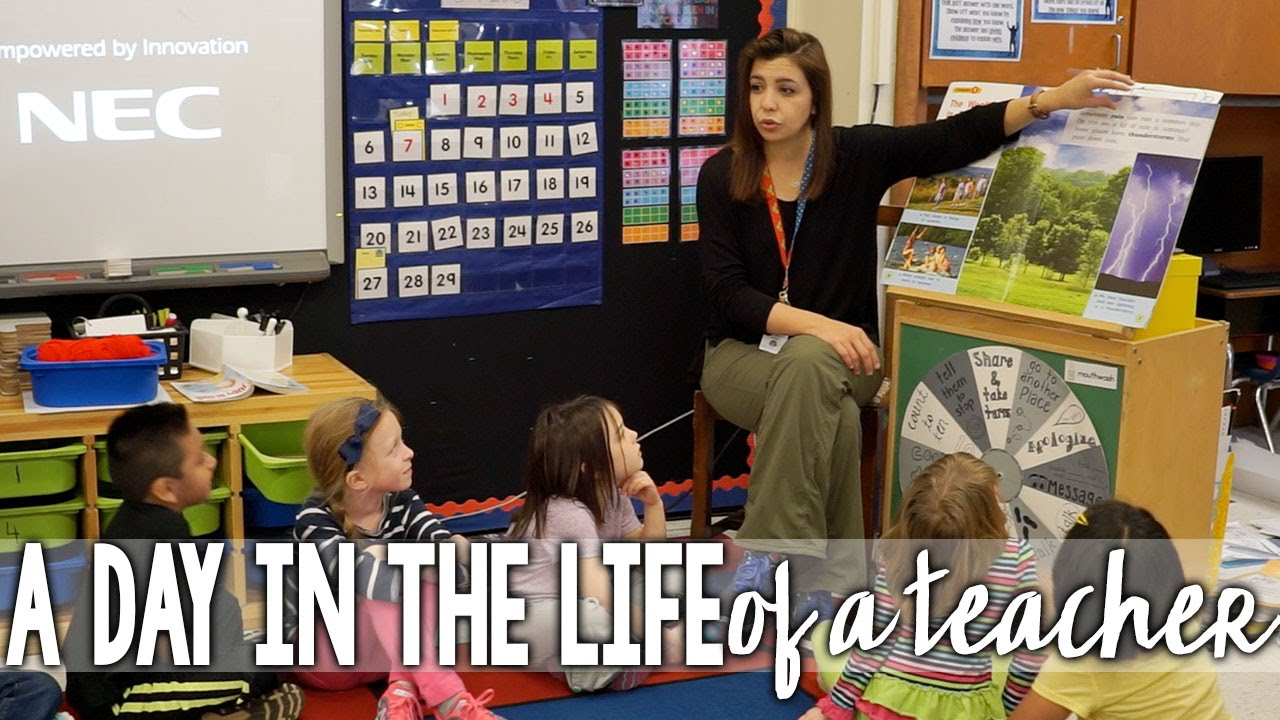 a day in the life of a teacher youtube