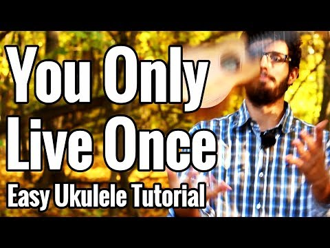 The Strokes - You Only Live Once - Ukulele Tutorial - Picking, Strumming & Play Along
