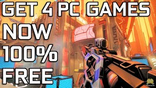 GET 4 New FREE PC Games  : Humble Bundle/Epic Games/Uplay /Steam