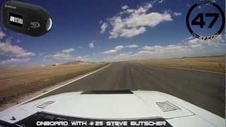 Insane 5.0 Mustang Jump & Crash @ Willow Springs