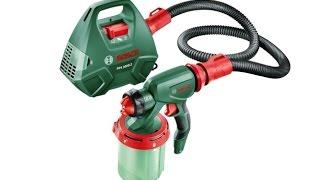 РоботунОбзор: Краскопульт Bosch PFS 3000-2