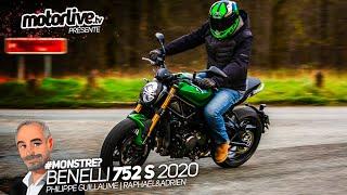 BENELLI 752 S A2 2020 : AMBITION MONSTRE | TEST MOTORLIVE