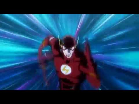 Justice League The Flashpoint Paradox : Barry Allen Stops the Flashout Paradox By Travelling Back