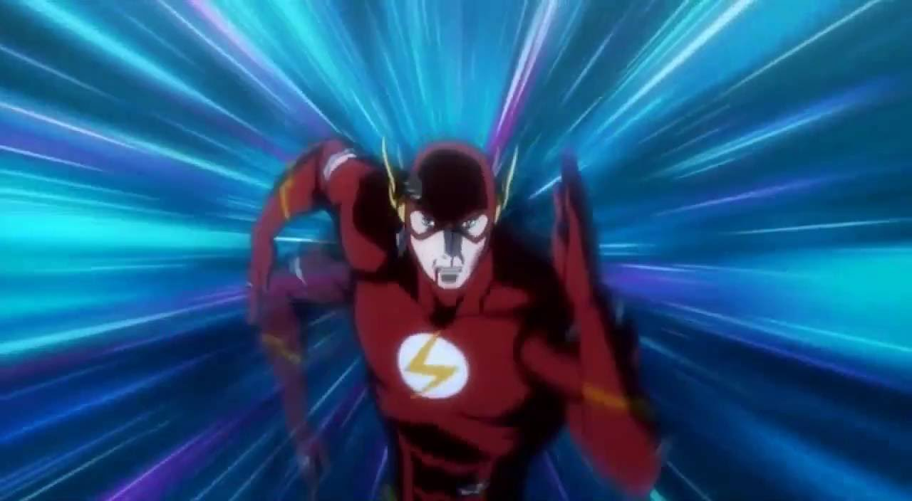 justice league the flashpoint paradox : barry allen stops the