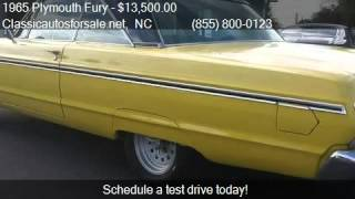 1965 Plymouth Fury Sport for sale in Nationwide, NC 27603 at #VNclassics