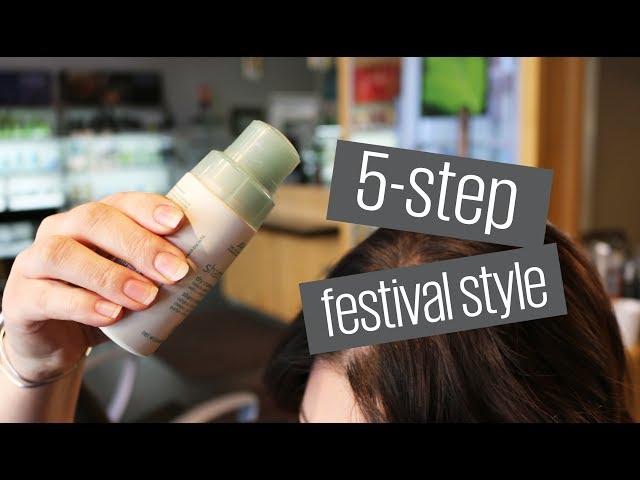 5 Step Festival Hair Style