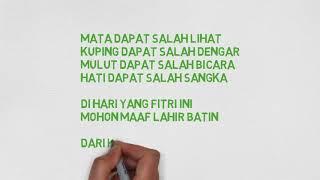 Ucapan Selamat Hari Raya Idul Fitri 2018, kata kata ucapan idul fitri yang menyentuh hati