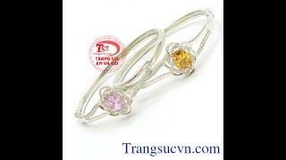 Vòng tay bạc nữ thần , Lắc bạc đẹp, Lắc Bạc Nữ, TSVN016574