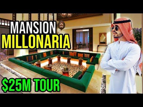 LA MANSION MILLONARIA DE LOS JEQUES ARABES DE DUBAI