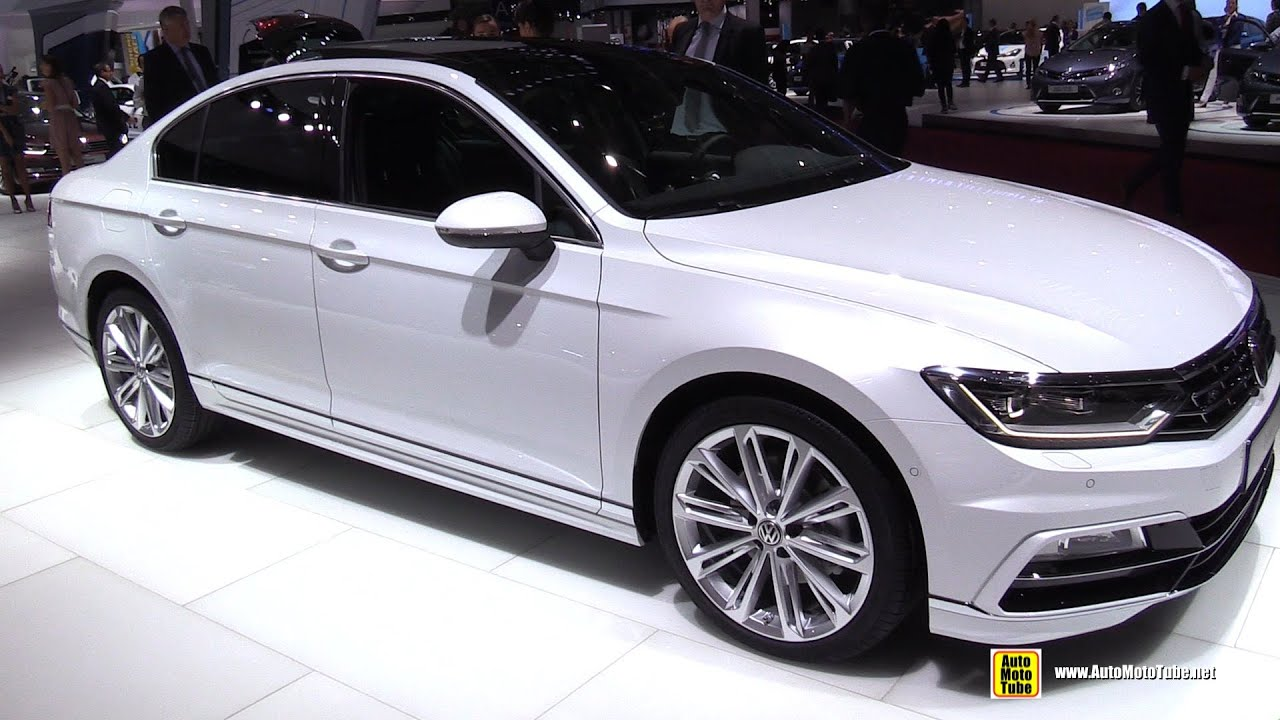 2015 volkswagen passat 2 0 tsi r line exterior walkaround 2014 paris auto show youtube. Black Bedroom Furniture Sets. Home Design Ideas