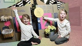 BOX FORT | NO BOYS ALLOWED!