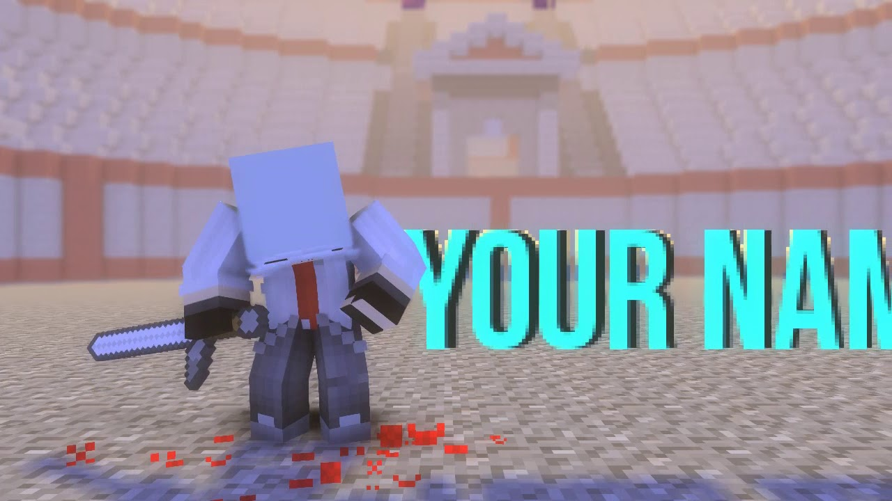 #32 New Minecraft Intro Template [NEW] | Mine Imator [Download In Deskcription] [Bad Sync]