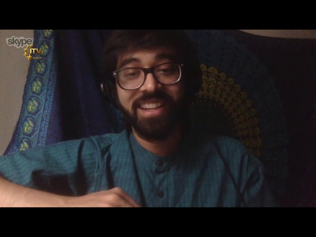 Agney Mulay Shares His Love for Music With ITV Gold's Ashok Vyas
