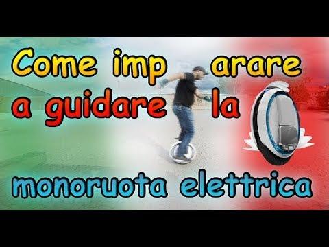 Come imparare a guidare la monoruota elettrica - Tutorial