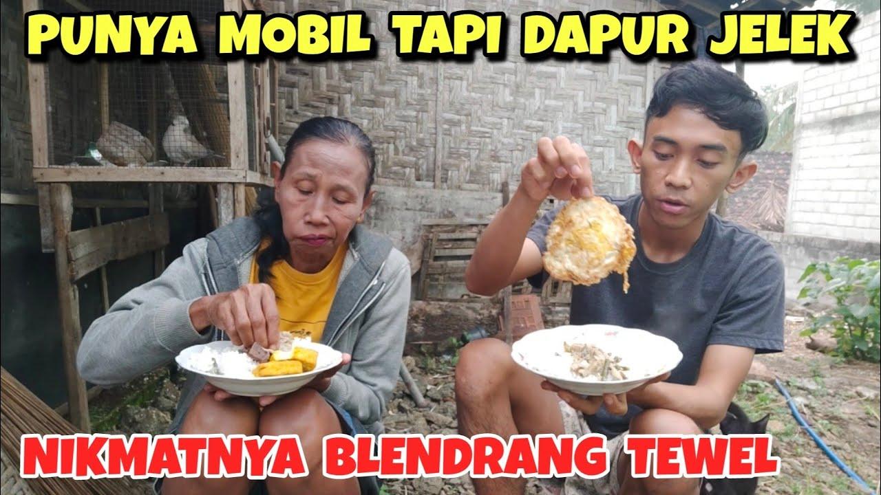 Makan sore bareng Emak di kampung