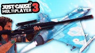 I AM DISAPPOINTED IN THIS SH*T!  (JC3 MULTIPLAYER SNIPER BATTLE ON PLANES CHALLENGE)