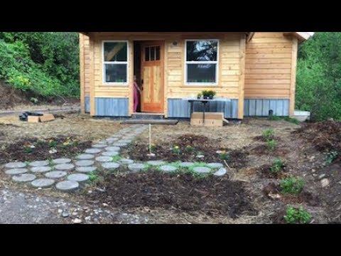 Little House in Spring -- the Dragon Garden