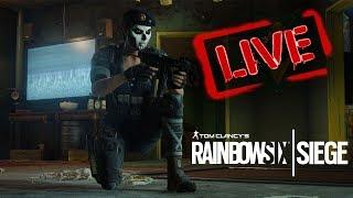Prima live su Rinbow six siege su PC !