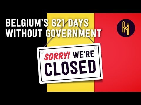 How Belgium Has Gone 621 Days Without a Government