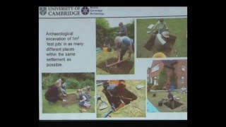 Dr. Carenza Lewis - The contribution of Test Pits to Archaeology