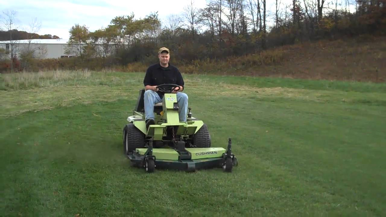 Cushman 898809 Frontline With 60 Quot Side Discharge Mowing