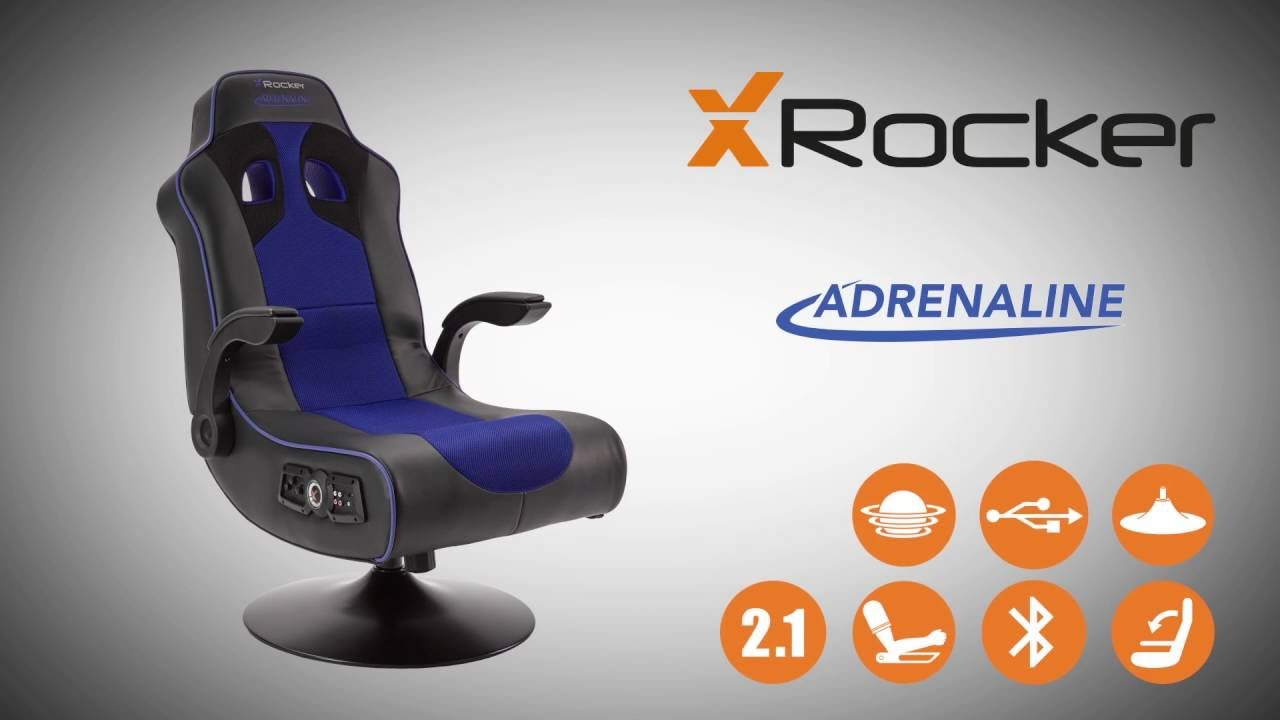 XRocker Adrenaline  Bluetooth gaming chair  Product