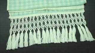 Cibélia Alves ensina como fazer o nó chato, ponto base do macramê – Passo a passo