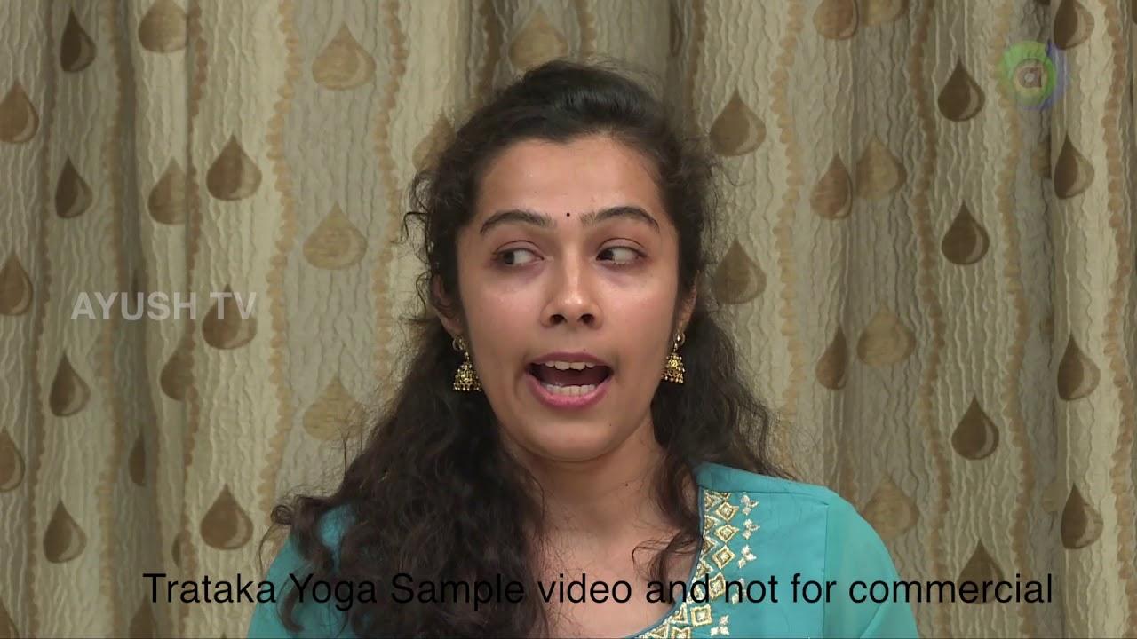 Indiai trataka látványgyakorlat, Gyakorlatok a látás helyreállításához jóga alapján