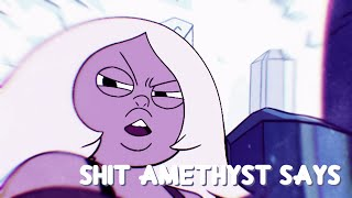 Shit Amethyst Says...