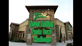 Olive Garden Never Ending Pasta Bowl Challenge