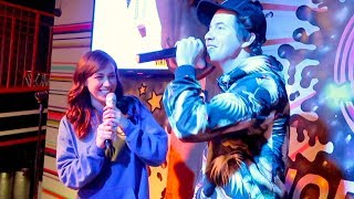 KARAOKE WITH MY FIANCE!