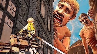 ATTACK ON TITAN 2 Battle Gameplay Trailer (2018) PS4 / Xbox One / Switch / PC