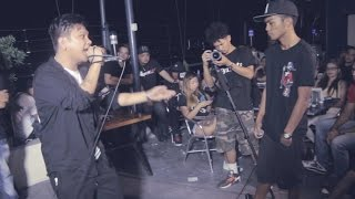 Bahay Katay - Smugglaz Vs Alas - Rap Battle @ Giniling Festival Pt. 2