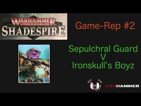 Warhammer Underworlds Shadespire: Game-Rep #2